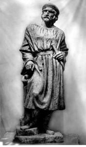 Radauš, Vanja (1906-1975) : Skica za spomenik majstoru Radovanu [Firšt, Rudolf  ]