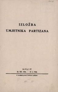 Izložba umjetnika partizana