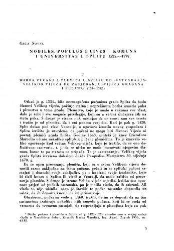 Nobiles, populus i cives - komuna i universitas u Splitu 1525.-1797.