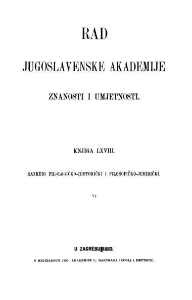 Knj. 6(1883) : RAD