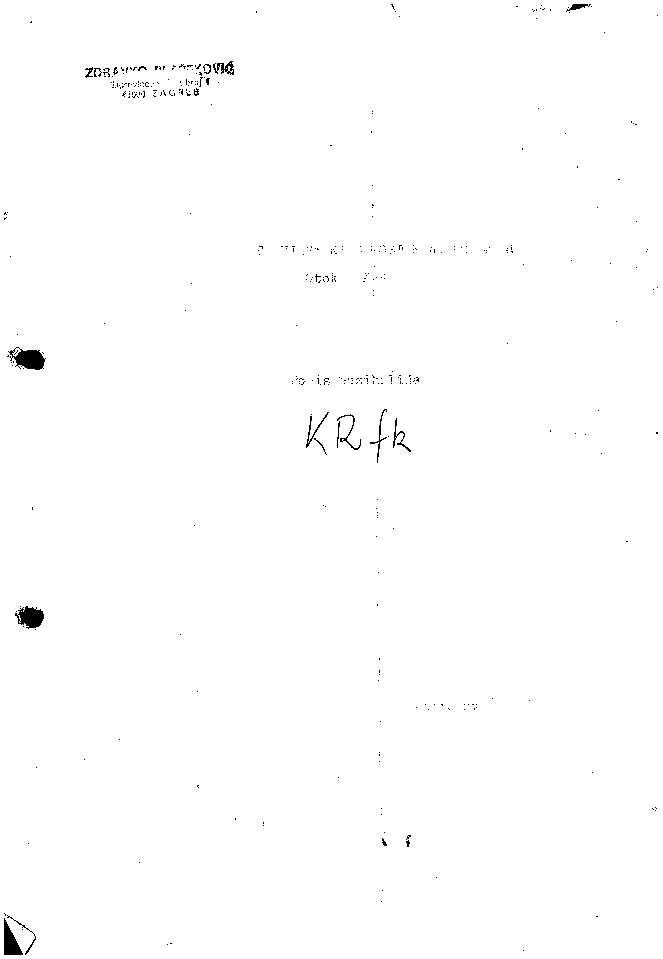 Franjevački samostan na Košljunu, otok Krk popis muzikalija / Ladislav Šaban