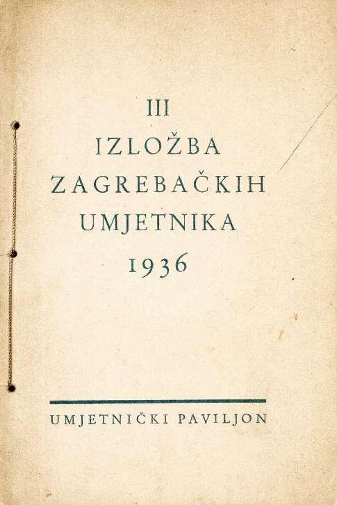 III izložba zagrebačkih umjetnika 1936