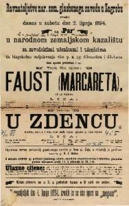 Faust (Margareta) Velika opera u 5 čina / Uglazbio Ch. Gounod