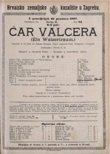 Čar valcera opereta u tri čina