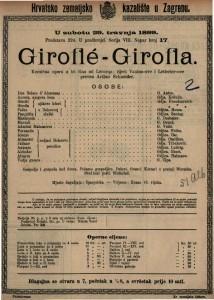 Giroflé-Girofla : komična opera u tri čina