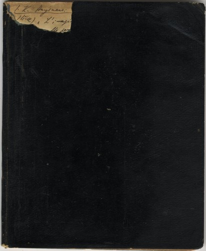 Bilježnica IV. [I. K. Huysmans: Croquis Parisiens]