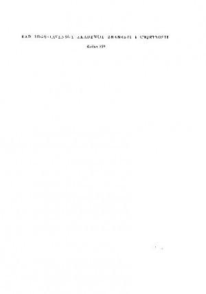 Knj. 10(1968) : RAD