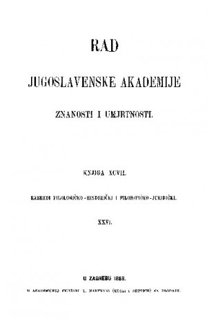 Knj. 26(1889) : RAD