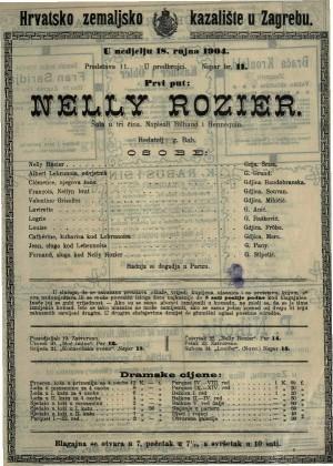 Nelly Rozier šala u tri čina / napisali Bilhaud i Hennequin