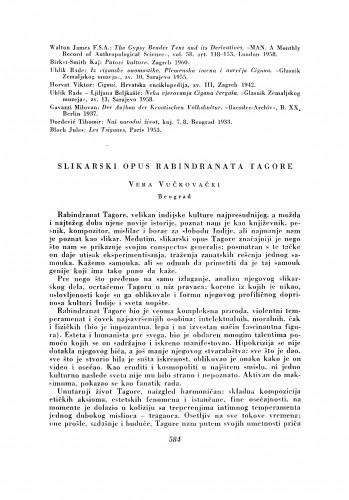 Slikarski opus Rabindranata Tagore