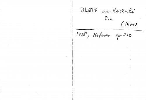 Blato na Korčuli ž.c.