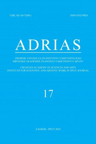 Sv. 17 (2010) : Adrias : zbornik Zavoda za znanstveni i umjetnički rad Hrvatske akademije znanosti i umjetnosti u Splitu