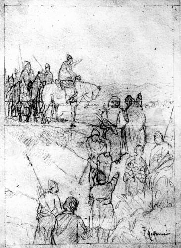Medović, Mato Celestin (1857-11-17 1920-1-20) : Dolazak Hrvata