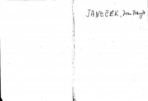 Janeček Ivan Franjo
