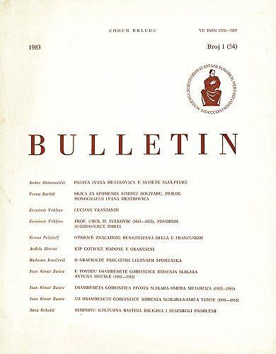 Bulletin Instituta za likovne umjetnosti Jugoslavenske akademije znanosti i umjetnosti