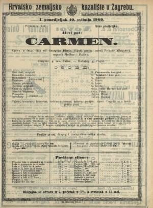 Carmen  =  Carmen : Opera u četiri čina