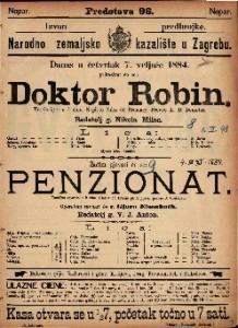 Doktor Robin Vesela igra u 1 činu / Napisao Jules de Prémary