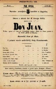 Don Juan velika opera u 2 čina / po talijanskom napisao Abata da Ponte