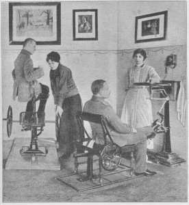 Liječenje oporavljenih ranjenika sprave za liječenje ukočenih naposeb za vježbanje u gibanju i pružanju nogu