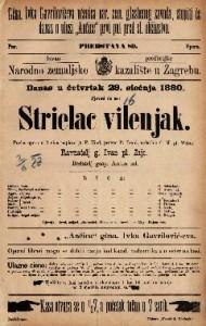 Strielac vilenjak pučka opera u 3 čina / uglasbio C. M. pl. Weber