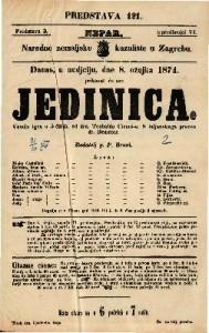 Jedinica Vesela igra u 5 činah / od dra. Teobalda Ciconi-a