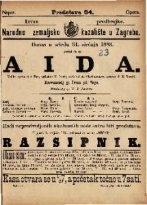 Aida Velika opera u 4 čina / uglasbio G. Verdi