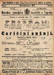 Caričini sužnji : Vesela igra u 2 čina / francezki napisao Bayard