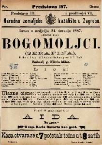 Bogomoljci Igrokaz u 5 činah / od Victorienna Sardou-a  =  Serafina