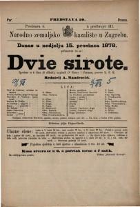 Dvie sirote igrokaz u 4 čina (8 slikah) / napisali D'Enery i Cormon