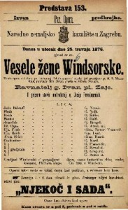 Vesele žene Windsorske vesela opera u 3 čina / glasba od Ottona Nicolai-a