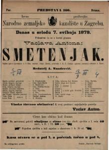 Smetenjak : šaljiva igra s pjevanjem u 3 čina / napisao Julijo Rosen