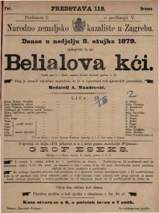 Belialova kći vesela igra u 5 činah / napisao Rudolf Kneizel