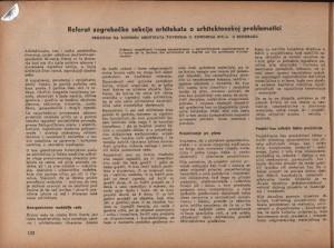 Referat zagrebačke sekcije arhitekata o arhitektonskoj problematici. Pročitan na plenumu Arhitekata povodom II. kongresa DITJ-a u Beogradu : Arhitektura