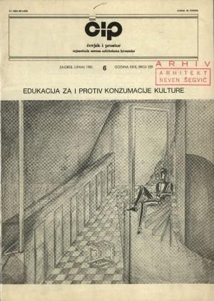 Arhitektonska škola Drage Iblera : Čovjek i prostor