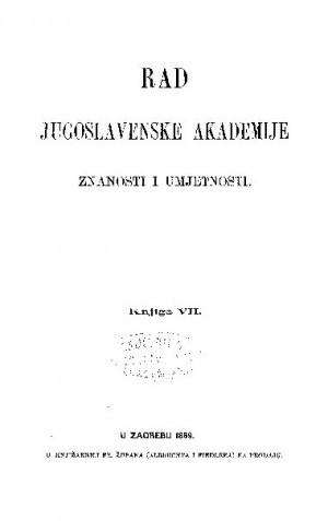 Knj. 7(1869) : RAD