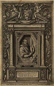 Della trasportatione dell' obelisco Vaticano et delle fabriche di nostro signore Papa Sisto V