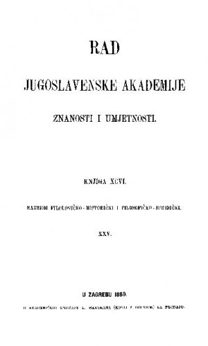 Knj. 25(1889) : RAD