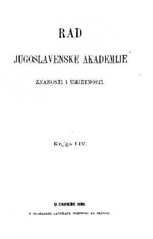 Knj. 54(1880) : RAD