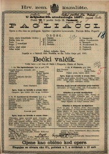 Bečki valčik veliki balet u tri čina / glasba od Bayera