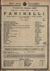 Farinelli Komična opereta u tri čina / od Zumpa