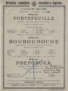 Portefeuille komedija u jednom činu / napisao Octave Mirbeau