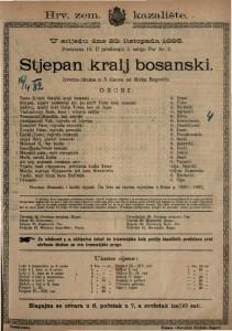 Stjepan kralj bosanski Izvorna drama u 5 činova / od Mirka Bogovića