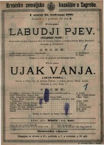 Labudji pjev dramatska studija u jednom činu / od Anton Čehova