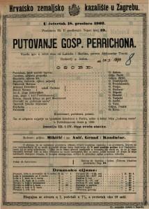 Putovanje gosp. Perrichona vesela igra u četiri čina / od Labicha i Martina
