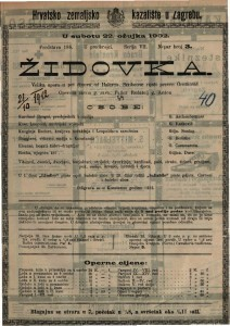 Židovka : velika opera u pet činova / od Halevya