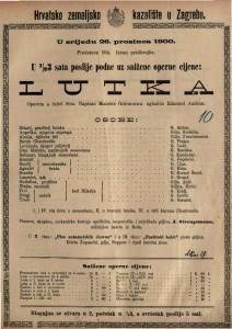 Lutka opereta u četiri čina / uglazbio Edmond Audran