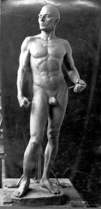 Radauš, Vanja(1906-1975): Muški akt ]