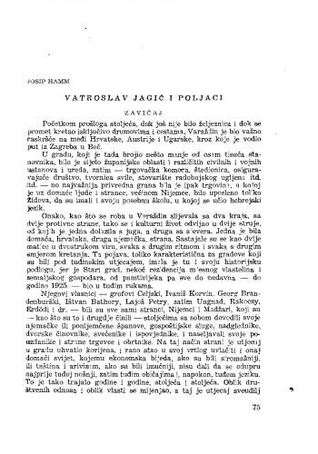 Vatroslav Jagić i Poljaci