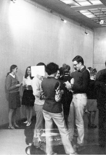 Izložba žena i muškaraca, Galerija Studentskog centra, 26. lipnja 1969 [Jakolić, Vladimir  ]
