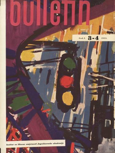God. 1(1953), Br. 3-4 : Bulletin Instituta za likovne umjetnosti Jugoslavenske akademije znanosti i umjetnosti